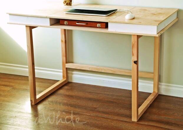 Modern Desk Base Photo