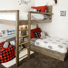 simple bunk bed plan