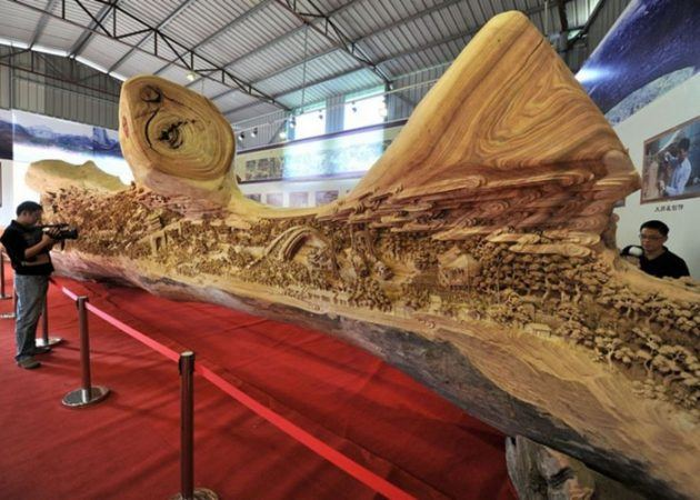 Top 15 Woodworking Creations in the World