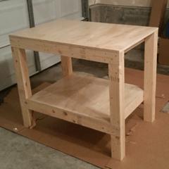 garage workbench plans 2