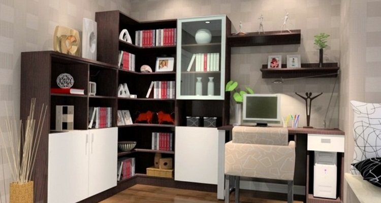 corner bookshelf plans