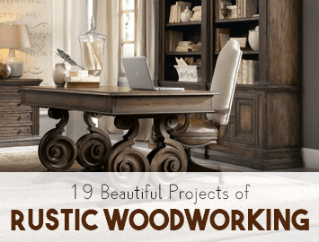 amazing rustic woodworking projects