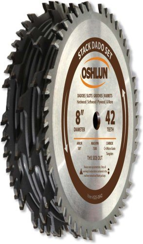 dado blade lowes. oshlun sds-0630 6-inch 30 tooth stack dado set with 5/8-inch arbor blade lowes k