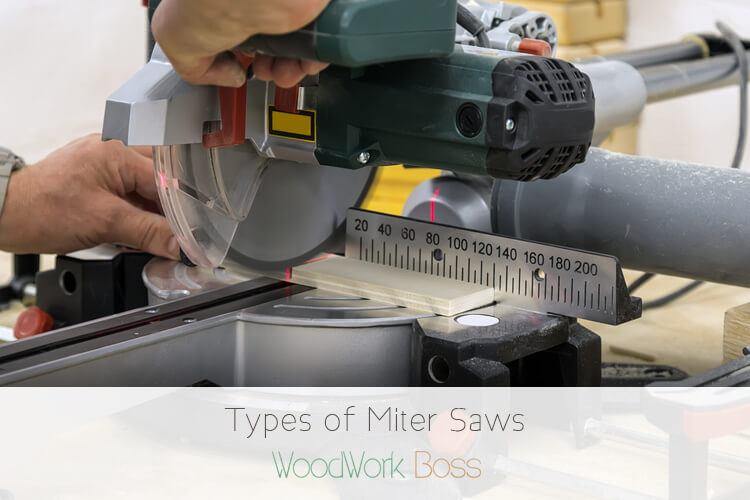 All The Different Types of Miter Saws - Woodwork Boss