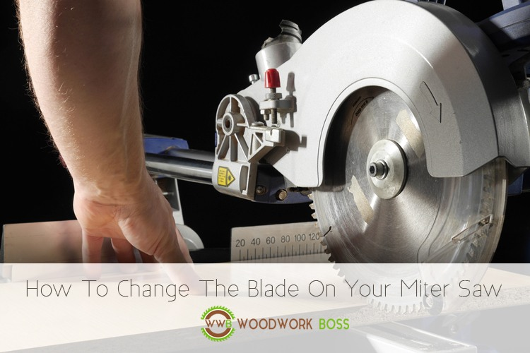 To change the blade on your miter saw woodwork boss how to change the blade on your miter saw greentooth Gallery