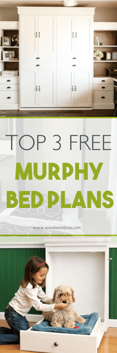 Top 3 Free Murphy Bed Plans