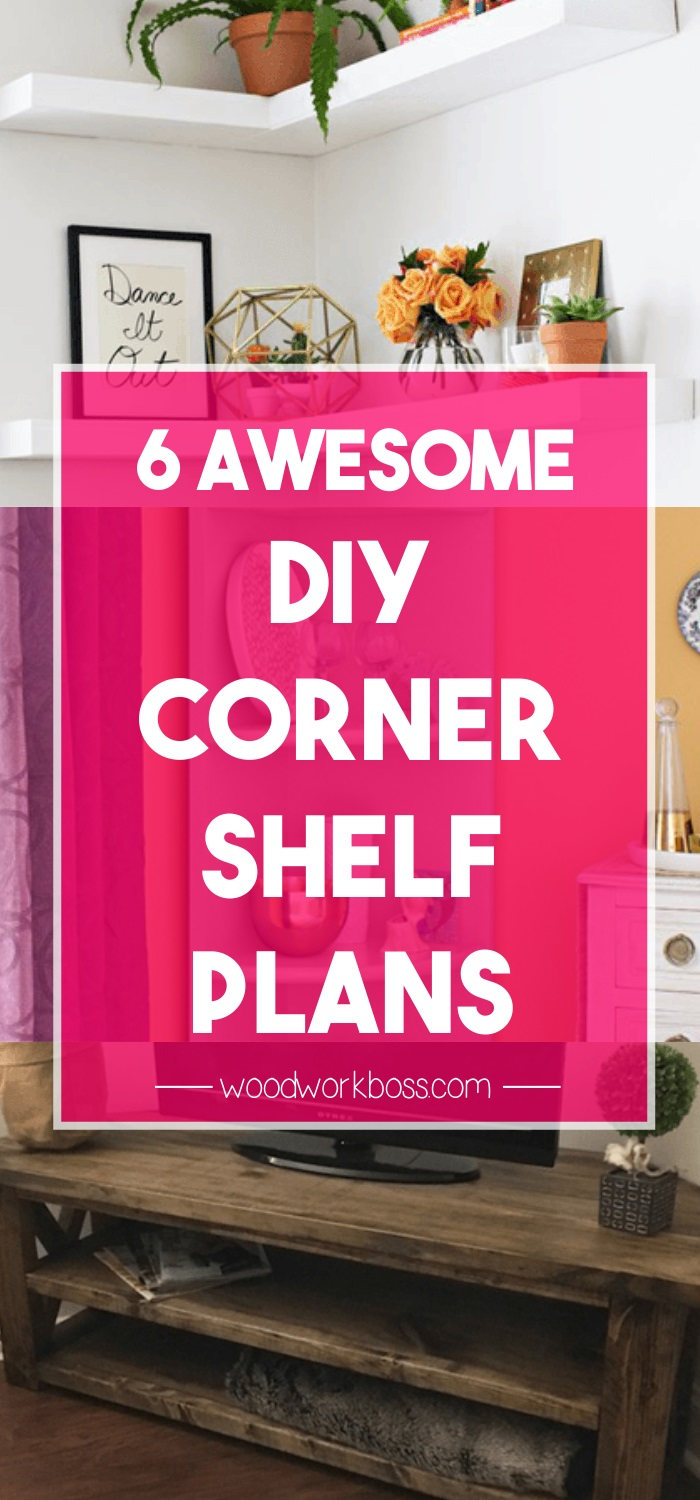 6 Best Corner Shelf Plans