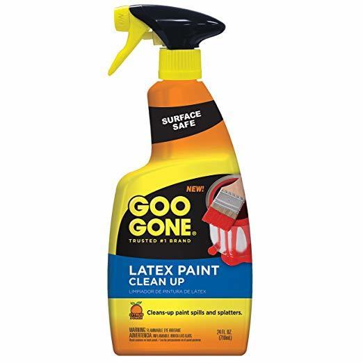 Goo Gone Latex Paint Clean-Up Spray